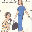 VOGUE #1597 Teen 1950s Blouson Waist Top in 2 Views & Slim Skirt Bust 30 Pattern