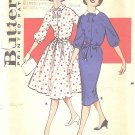 Butterick #9295 Misses 1950s Shirtdress w/ Full or Slim Skirt & Self Belt Bust 36 FF Pattern