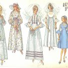 Simplicity #9218 Misses 1970s Empire Wedding Gown or Bridesmaid Dress Bust 32 1/2 Pattern