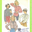 Simplicity #8738 Misses 1970s Tuck-In or Overblouse in 4 Distinct Views Bust 34 Pattern