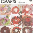 McCalls #2084 Seasonal / Holiday Soft Sculpture Wreaths & Ornamental Trims Pattern