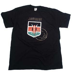 Jamhuri Wear Badge of Honour Tshirt