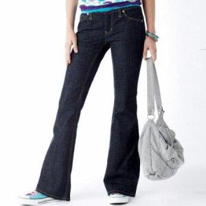 NWT Arizona My Favorite Rinse Flare Jeans 9 Short