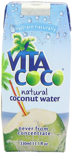 Vita Coco 100% Pure Coconut Water - 11.1 Ounce Containers (Pack of 12)
