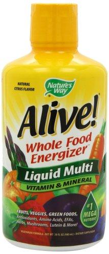Nature's Way Alive! Liquid Multi-Vitamin & Mineral - Citrus Flavor - 30 fl oz