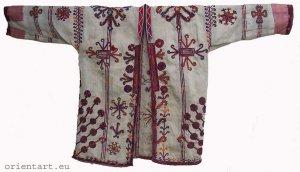 antique afghan Nomadic man�s jacket Paktya coat B