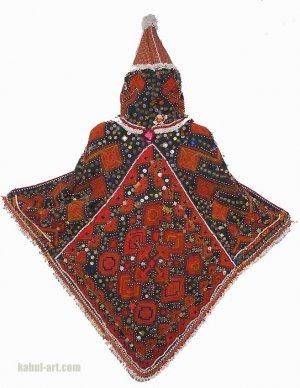 Antique Jung Girls headdress from Nuristan B