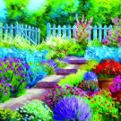Flower Garden----500 Large Piece Wooden Jigsaw Puzzle-No Missing Pieces