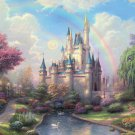 Dream Castle jigsaw puzzle 1000 pcs Wooden Puzzles