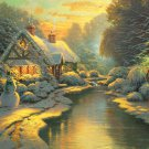 Warm Home----1000 Large Piece Wooden Jigsaw Puzzle