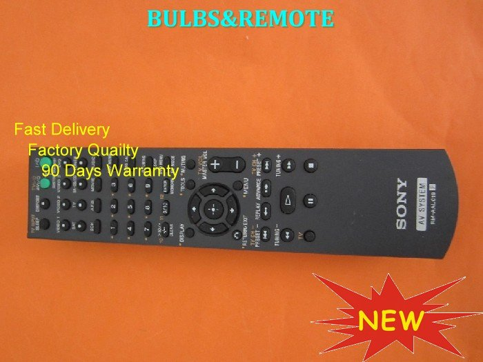 FOR SONY HT-SF2000 HT-SS2000 STR-KS2000 HTSF2000 HTSS2000 STRKS2000 HOME THEATER/DVD REMOTE CONTROL
