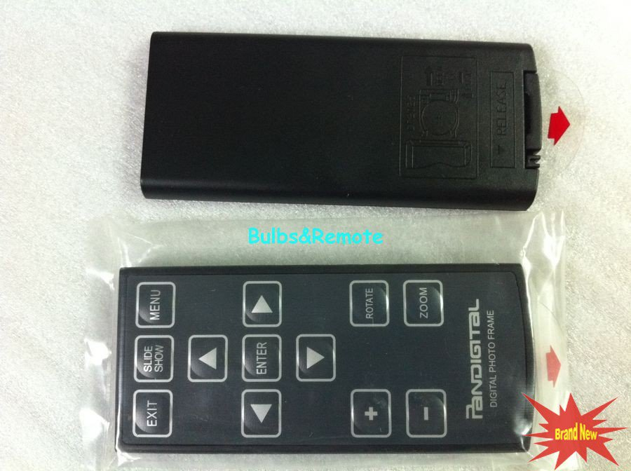 FOR PANDIGITAL Digital Photo Picture Frame Remote Control