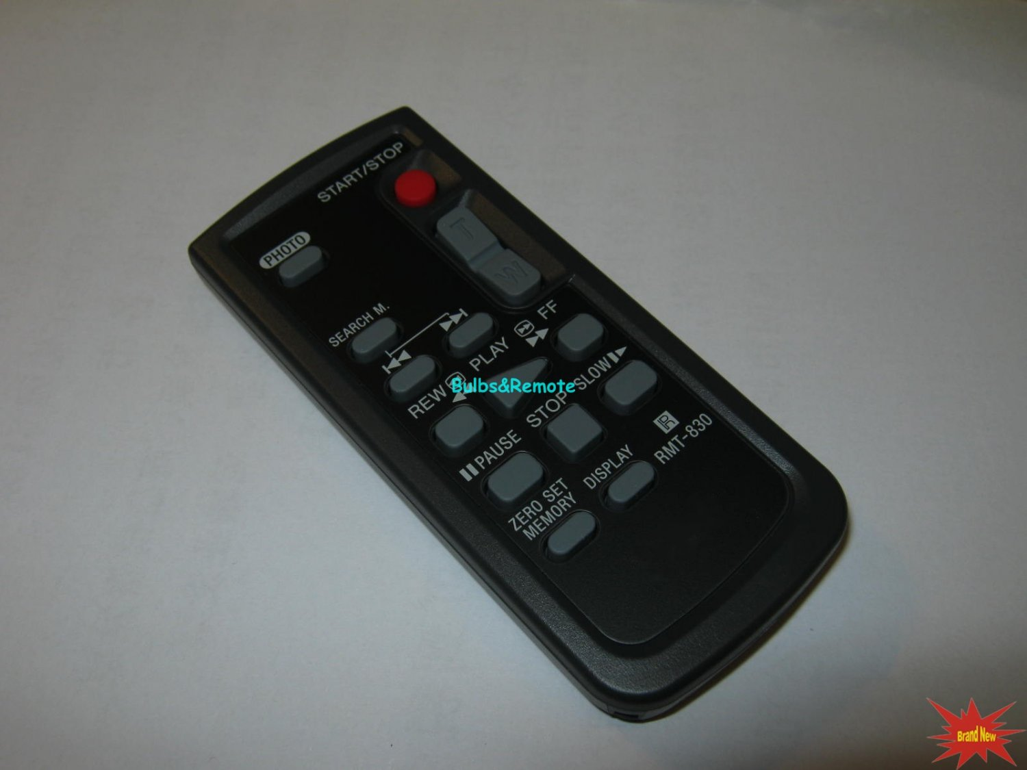 Replacement for Sony RMT-830 CAMCORDER COMMANDER REMOTE CONTROL