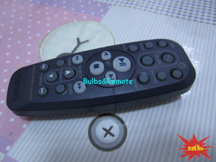 For PHILIPS RC19420005/01 CD Player Remote Control