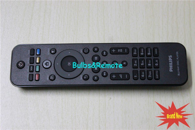For PHILIPS DBP2985 DBP2610 DBP3250/93 Blu-Ray Disc Player Remote Control