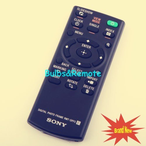 For SONY DPF-D75 DPF-D95 DPF-D1010 DPF-D1020 Digital Picture Frame Remote Control