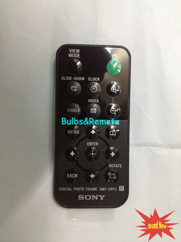 For SONY RMT-DPF3 Digital Photo Frame Remote Control
