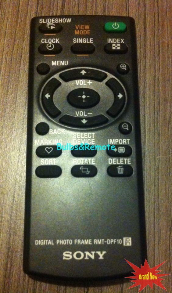 For SONY RMT-DPF10 Digital Photo Frame Remote Control
