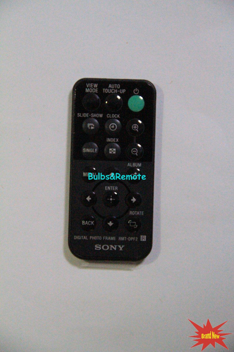 For SONY RMT-DPF2 Digital Photo Frame Remote Control