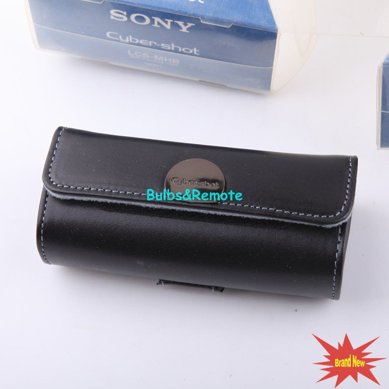 Genuine for Sony LCS-MHB Cyber-Shot Soft Carrying Case Bag for DSC-M2 DSC-M1 black color