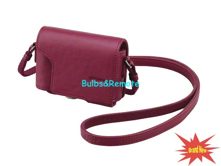 Genuine for Sony LCJ-HK Red Jacket case Bag for DSC-HX7 DSC-H9 DSC-H90 DSC-HX10 DSC-HX20