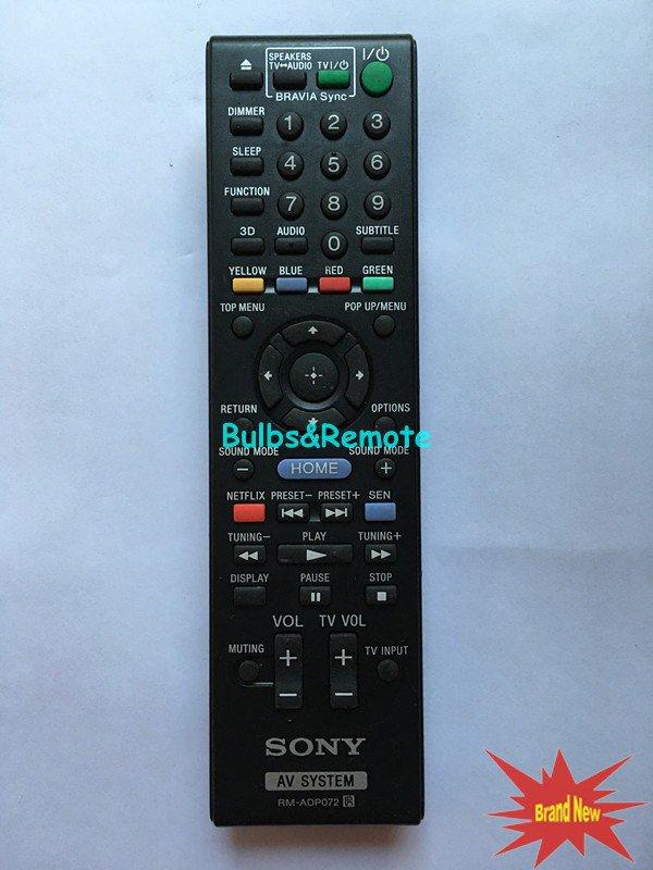 For SONY BDV-E390 BDV-N790 BDV-N790W BDV-T39 BDV-T79 Audio Video Receiver Remote Control