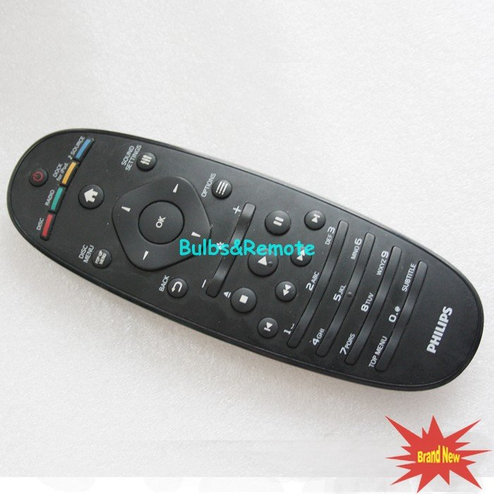For PHILIPS HTS9140/93 HTB9550/93 HTS7140/93 Home Theater System Receiver Remote Control