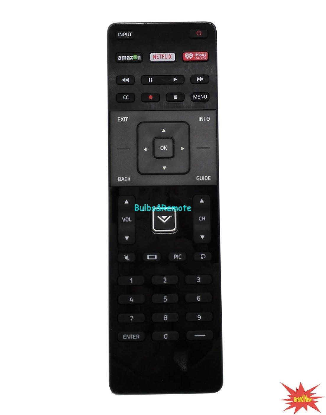 For VIZIO XRT122 LCD LDE TV Remote Control For E HDTV Series Models