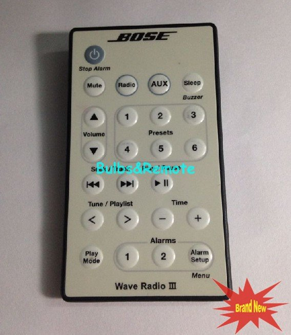 For Bose Wave Radio III 3 remote control