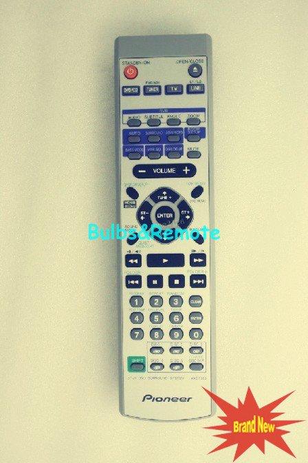 For Pioneer XVHTD7/DPWXJ/RD AXD7354 XV-HTD630 XVHTD7/DTXJN/RC DVD SURROUND SYSTEM Remote Control