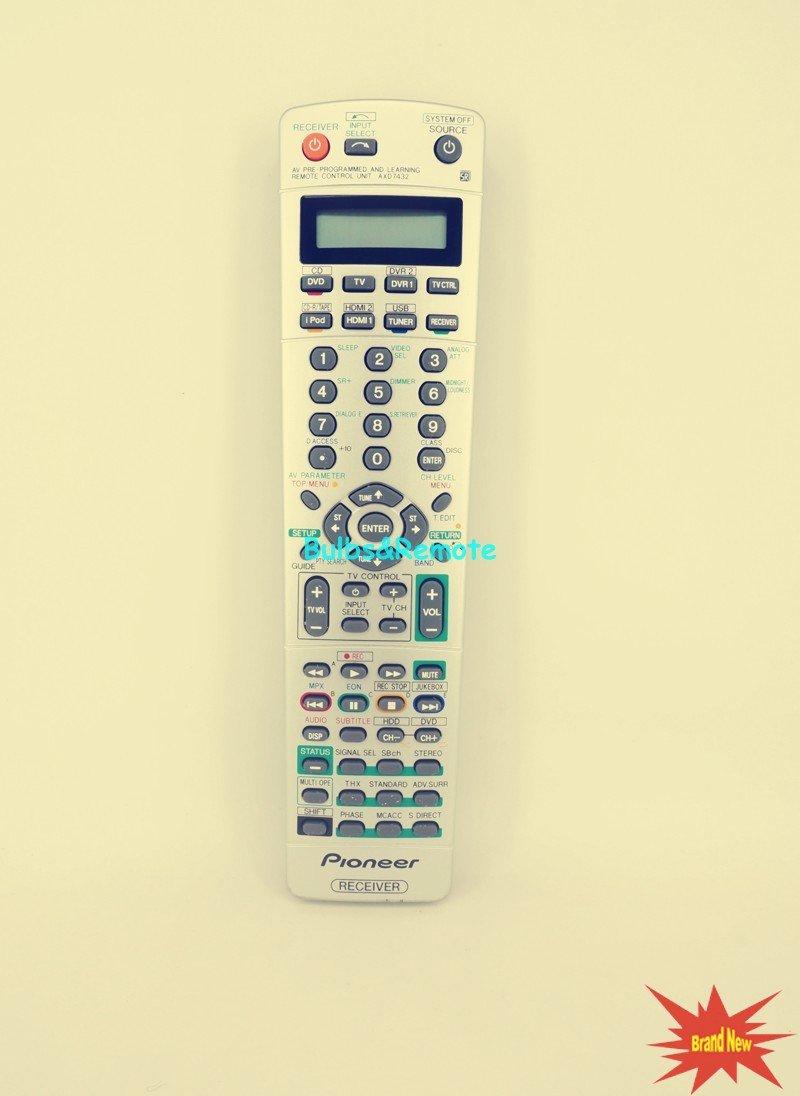 For Pioneer VSX91TXH AXD7455 VSX-72TXV VSX-91TXH VSX-74TXVi AV Player Receiver Remote Control