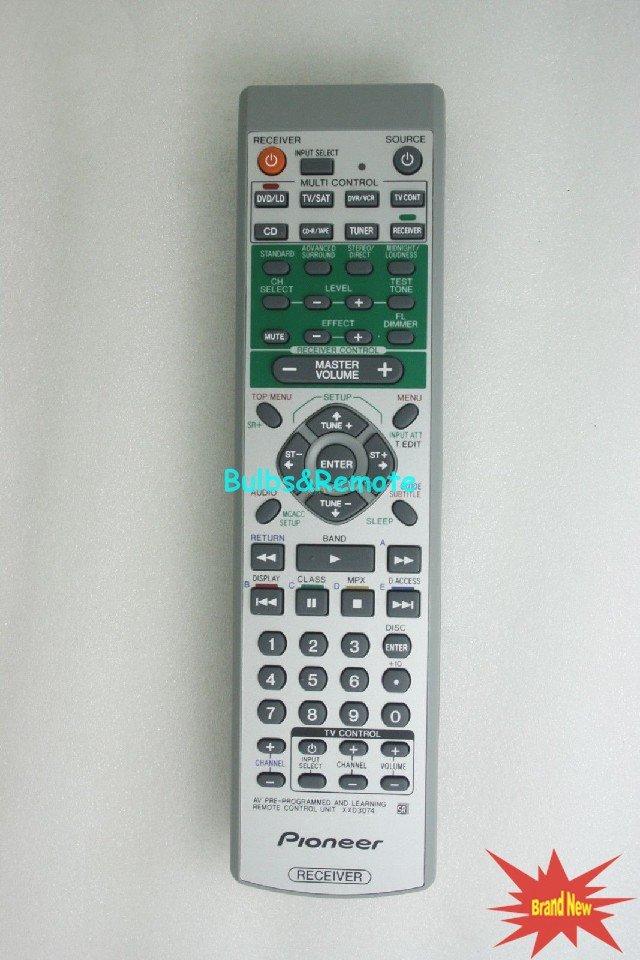 For Pioneer VSX-D814S/MYXJI VSX-D814K/SPWXJI VSX-D814S/SFXJI AV Receiver Remote Control