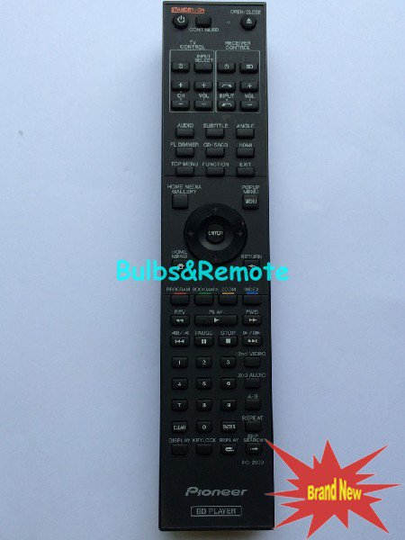 For PIONEER RC-2930 BDP-440 BD Player Remote Control