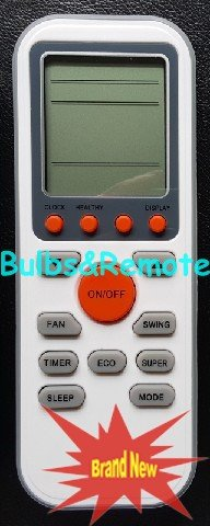 For TCL Sanyo Electrolux GYKQ-36 AC Air Conditioner Remote Control