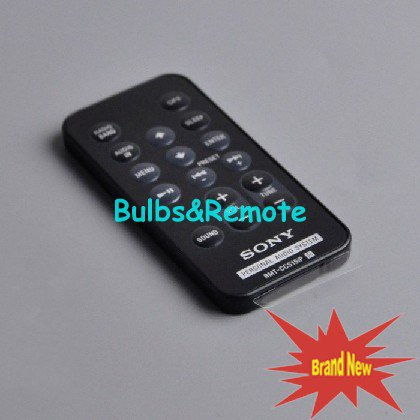 For Sony ICF-CS15IP ICF-CS15IPN RMT-CCS15iP ICF-DS15IPN personal audio system Remote Control