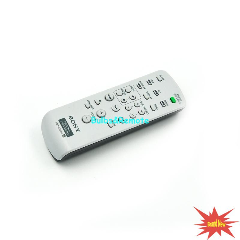 For SONY RMTCS2iPA ZSS2IP ZSS2IP/BLACK ZSS2IP/WHITE Audio System Remote Control