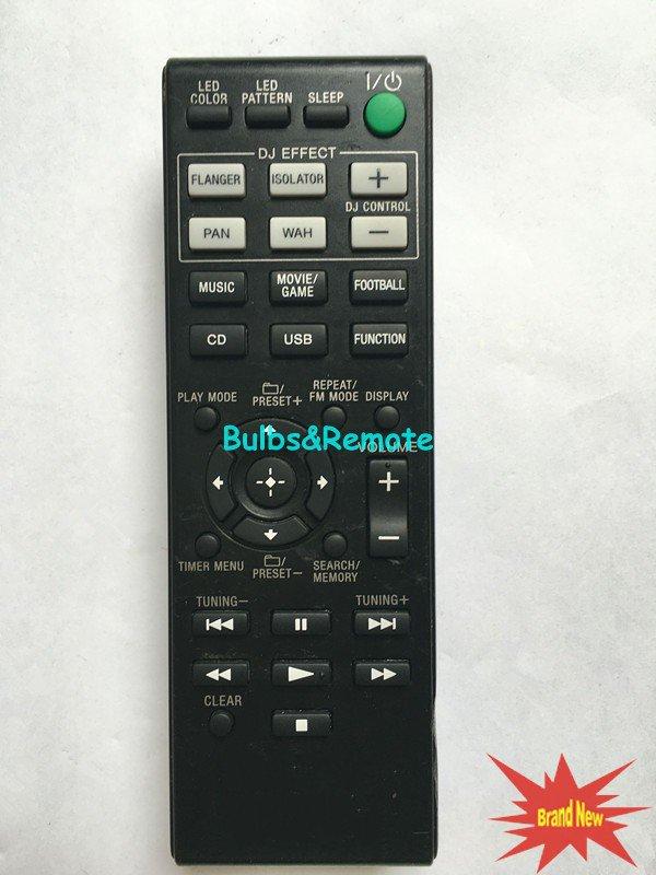 For SONY MHC-GPX555 MHC-GPX888 RM-AMU199 MHC-V5 LBT-GPX555 Audio System Remote Control