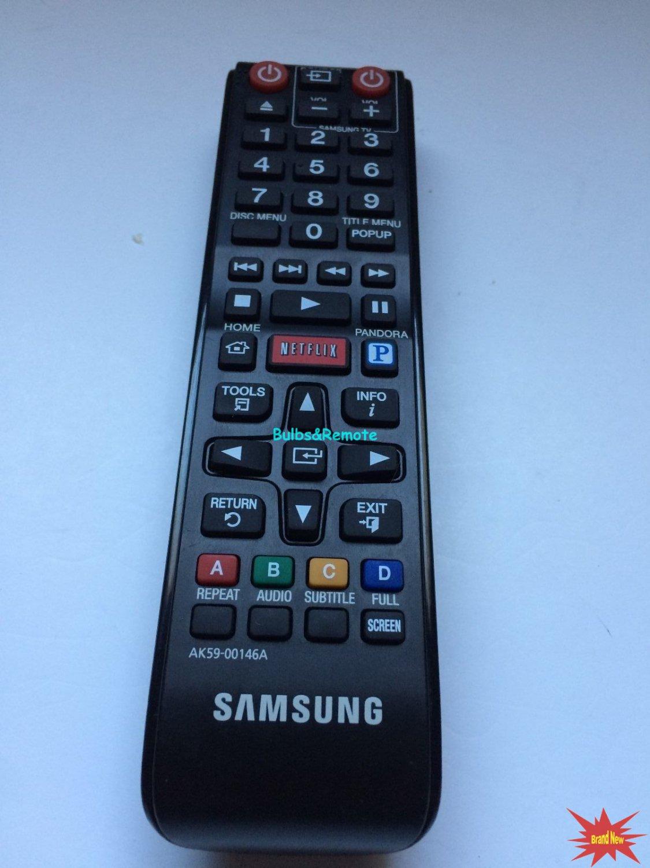 For SAMSUNG BDE5300/ZA AK59-00146A BDE5400/ZA BDEM53/ZA DVD Player Remote Control