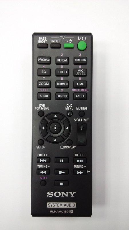 For Sony RM-AMU180 CMT-S40D CMT-SBT40D HCD-SBT40D SS-SBT40D HCD-S40D Remote Control