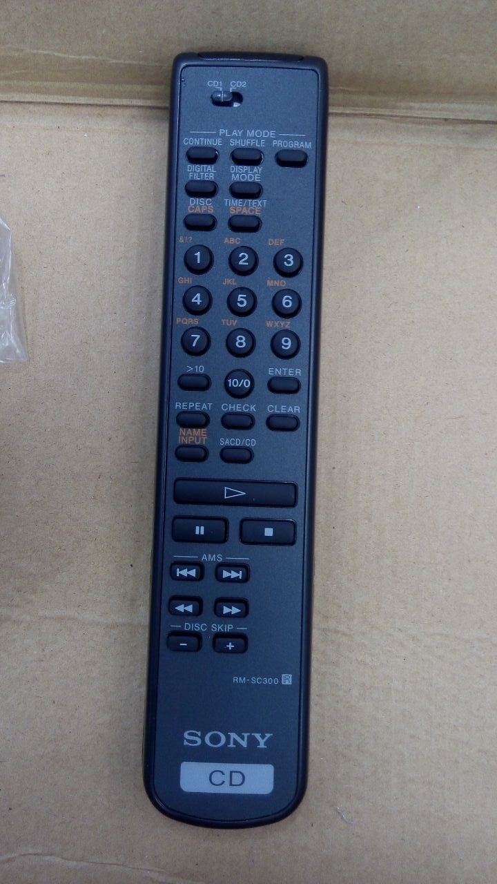 For Sony RM-SC300 CD Player Remote Control