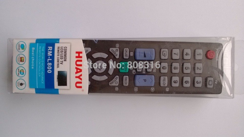 FOR SAMSUNG RM-L800 LCD / LED / TV / VCR / DVD REMOTE CONTROL