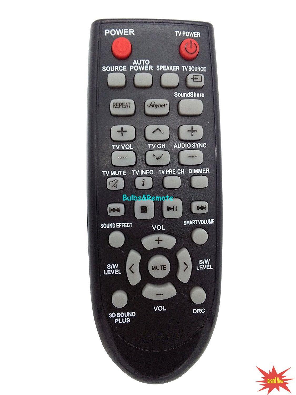 For Samsung PS-WJ550 HW-H550/ZA HW-H551/ZA HWH570ZA Audio System Remote Control