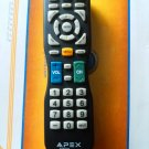 For APEX LD100RM LD3249 LD3288M LCD LED TV Remote Control
