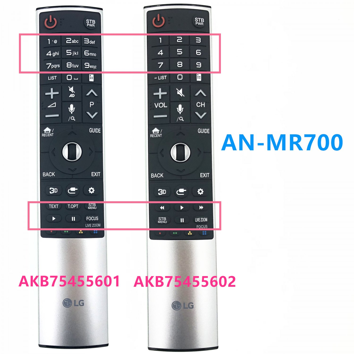 for lg AKB75455602 remote Control