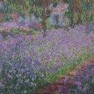 Claude Monet The Artist's Garden at Giverny Poster 20X30 Art Print