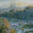 Claude Monet Les Tuileries Poster 20X30 Art Print