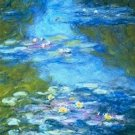 Claude Monet Waterlilies Nympheas Poster 20X30 Art Print