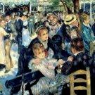 Pierre Auguste Renoir Ball at the Moulin de la Galette Montmartre Poster 20X30 Art Print