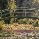 Claude Monet The Footbridge at Giverny Poster 20X30 Art Print