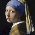 Girl With A Pearl Earring Jan Vermeer Poster 20X30 Art Print